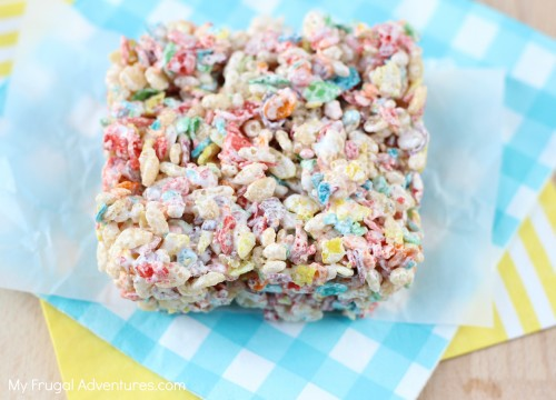 How to make rainbow rice krispies treats