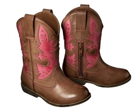 Children's Cowgirl Boots $32 - My Frugal Adventures