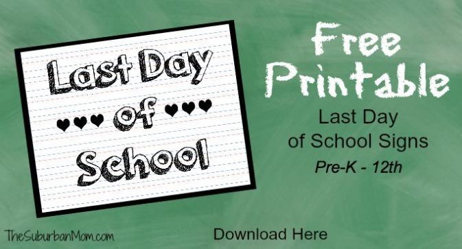 free end of school year printables my frugal adventures