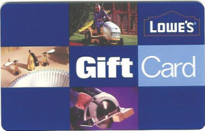 Lowe's Gift Card- Spend $5 and get $5 back - My Frugal Adventures