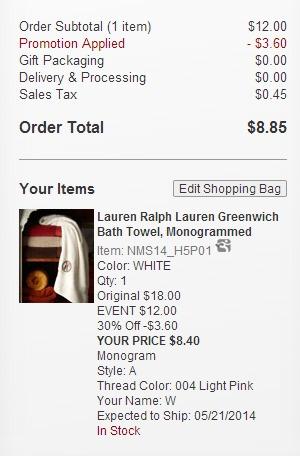 Ralph Lauren Bath Towels 8 40 Shipped My Frugal Adventures