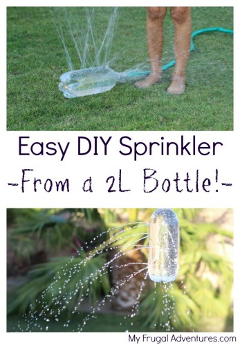 Easy DIY Sprinkler from a 2L Bottle!