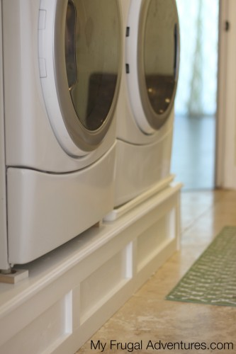How To Build A Washer And Dryer Pedestal My Frugal