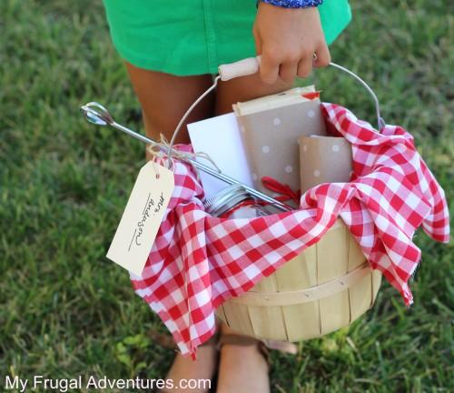 Smores Gift Basket Idea