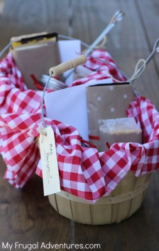 Smores Gift basket