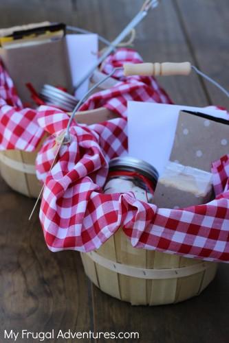 Smore's gift basket idea- fun summer gift or for Teacher Appreciation