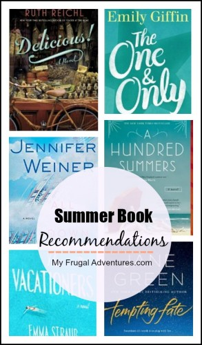 18 Summer Book Recommendations For 2015 My Frugal Adventures