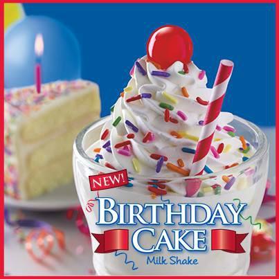 Tremendous Steak N Shake Half Price Birthday Cake Shake June 7 My Funny Birthday Cards Online Inifofree Goldxyz