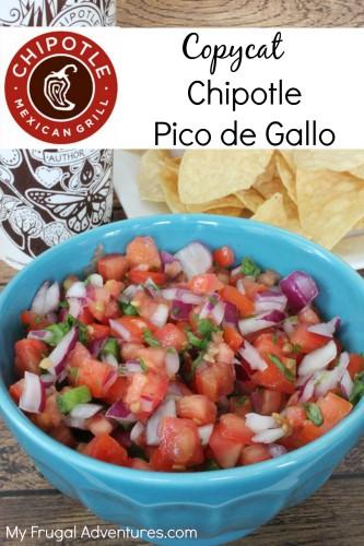 Copycat Chipotle Pico de Gallo Recipe