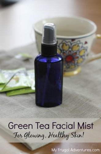 Green tea facial mist
