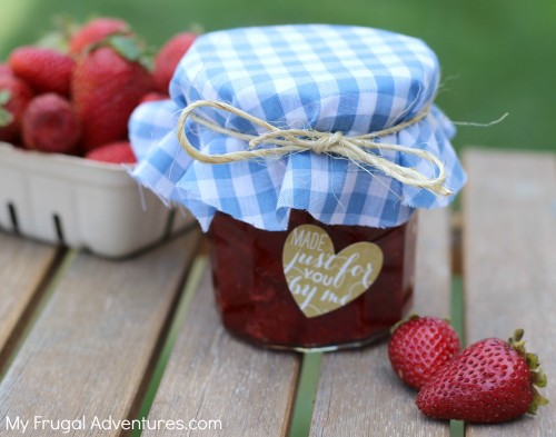 Homemade Strawberry Jam - so fast and you won't believe how delicious!