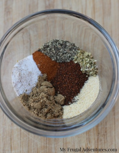 Homemade Taco Seasoning Recipe and a free printable label