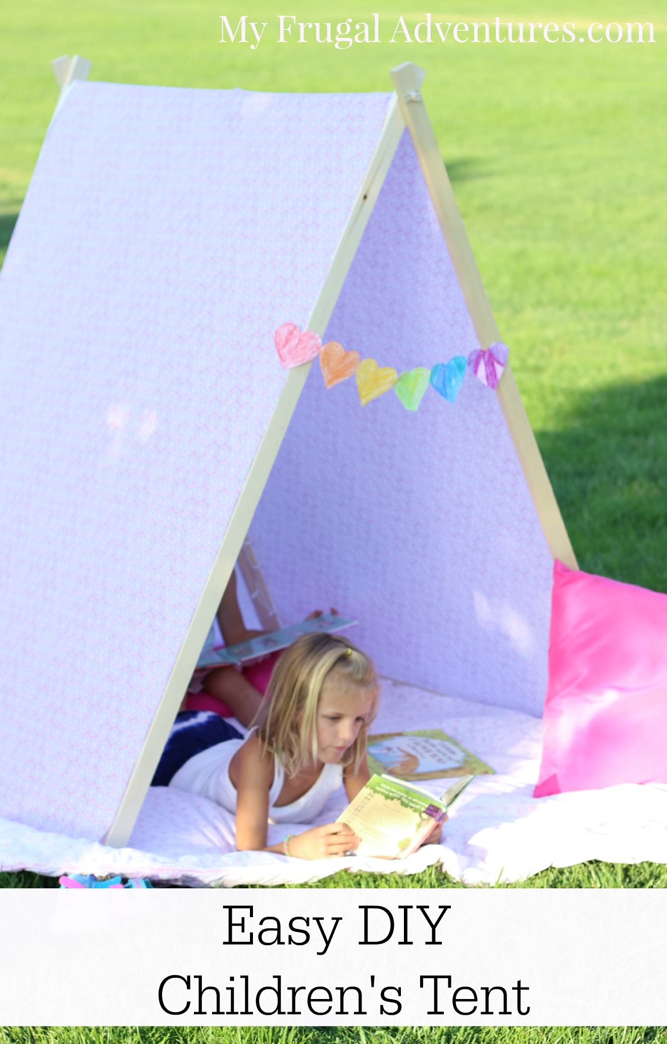 How To Make A Children S Tent My Frugal Adventures