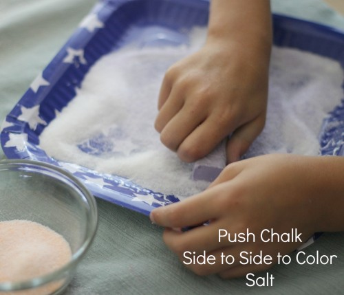 Easy Colored Sand Art- very fun craft for children