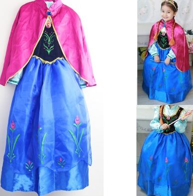 And if you do prefer to check out some costumes that are slightly less expensive the Anna and Elsa dresses are currently in stock at $20 here.  sc 1 st  My Frugal Adventures & Anna and Elsa Costumes $27 Shipped - My Frugal Adventures