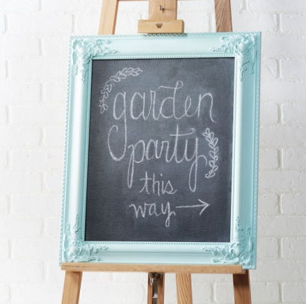 here is a fun idea to re purpose an old picture frame into a chalkboard sign so easy