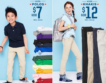 c1589b0e34cb The sales on school uniforms have started! This is the first year we have  needed to buy uniforms for our girls so I will be keeping a close eye on  these ...