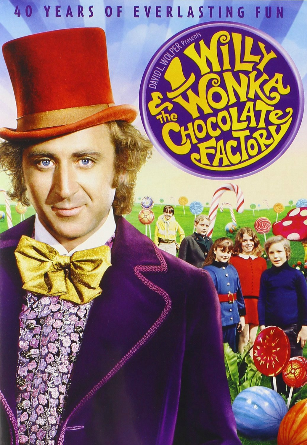 You can order willy wonka and the chocolate factory on dvd for only