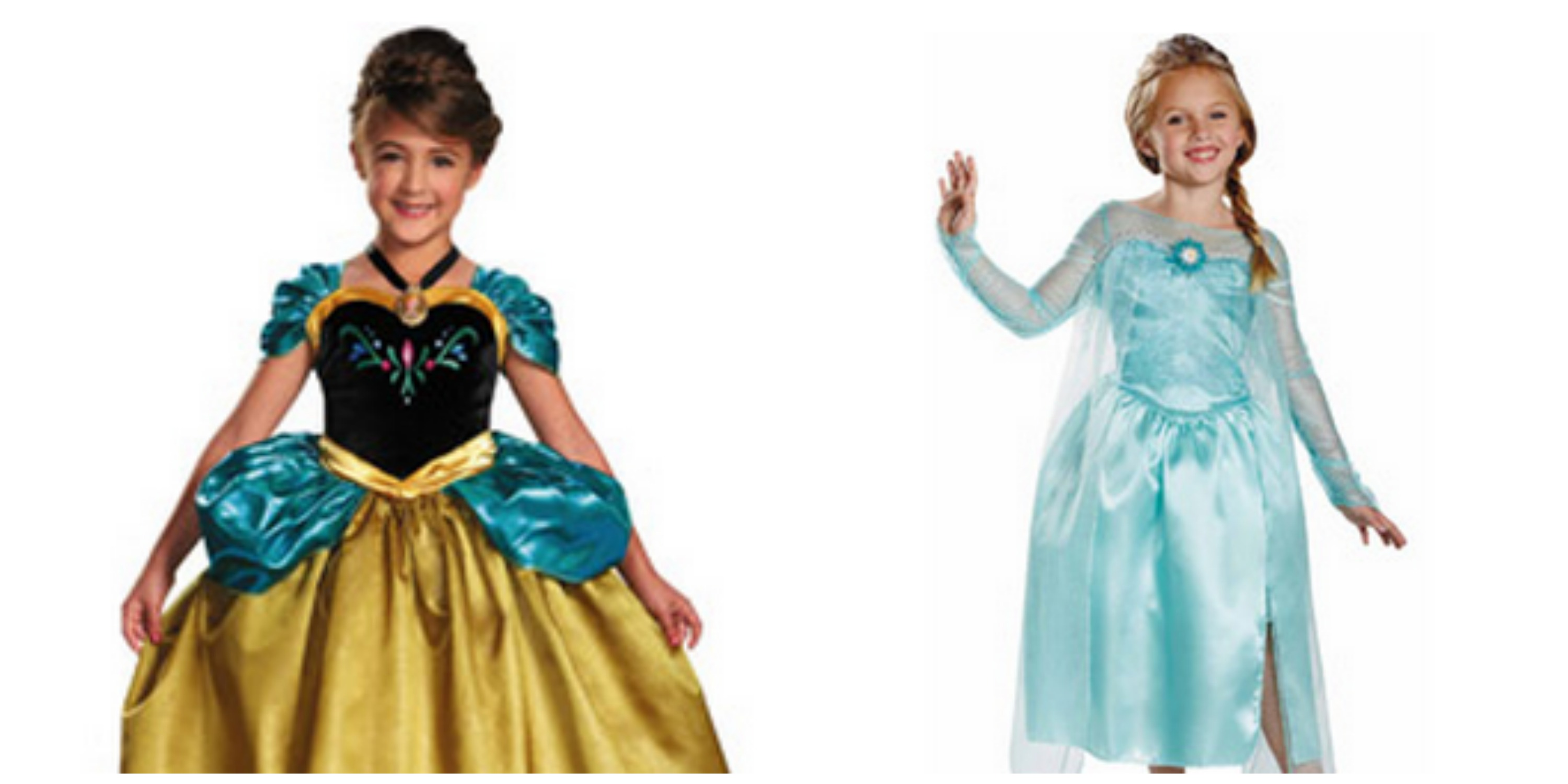 frozen-costume  sc 1 st  My Frugal Adventures & Elsa and Anna Dress Up Outfits as low as $17 - My Frugal Adventures