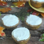 Apple Cinnamon Muffins with Cream Cheese Frosting