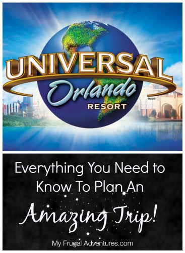 Everything you need to know to plan an amazing Universal Studios Vacation
