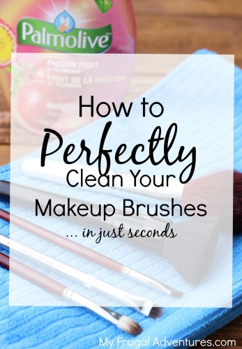 How to clean makeup brushes- so easy and so important for good skin!