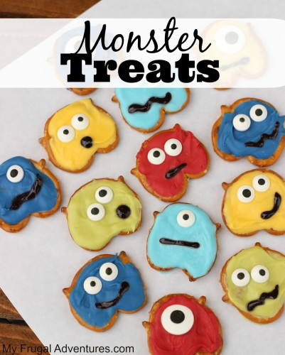 No Bake Monster Treats