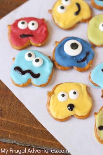No Bake Monster Treats