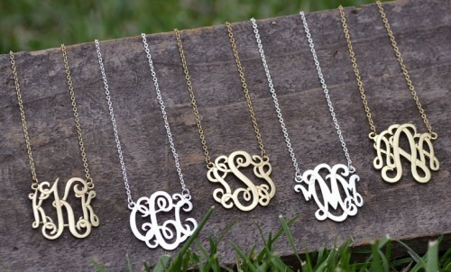 monogram-necklace