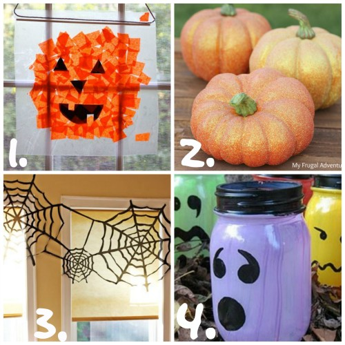 Halloween Kid's Crafts
