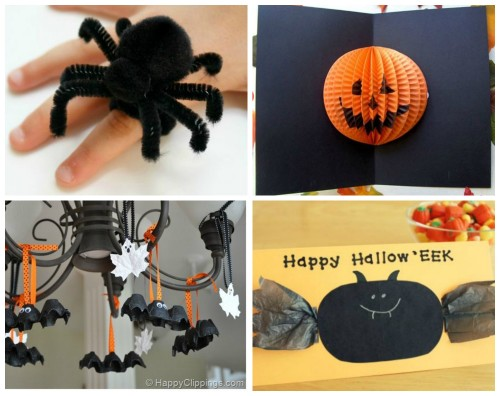 Halloween craft ideas for children