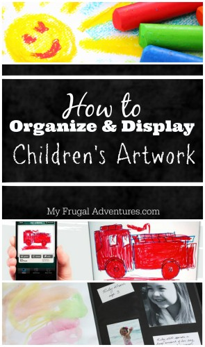 How to Organize Children's Artwork