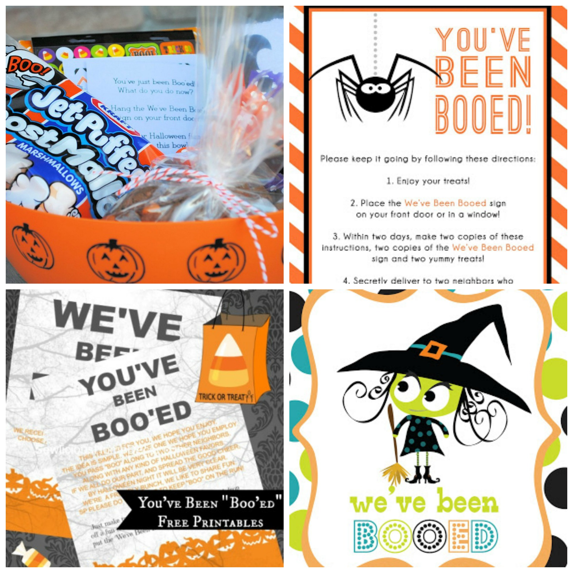 image regarding You've Been Booed Free Printable identify 12 Free of charge Youve Been Booed Halloween Printables - My Frugal