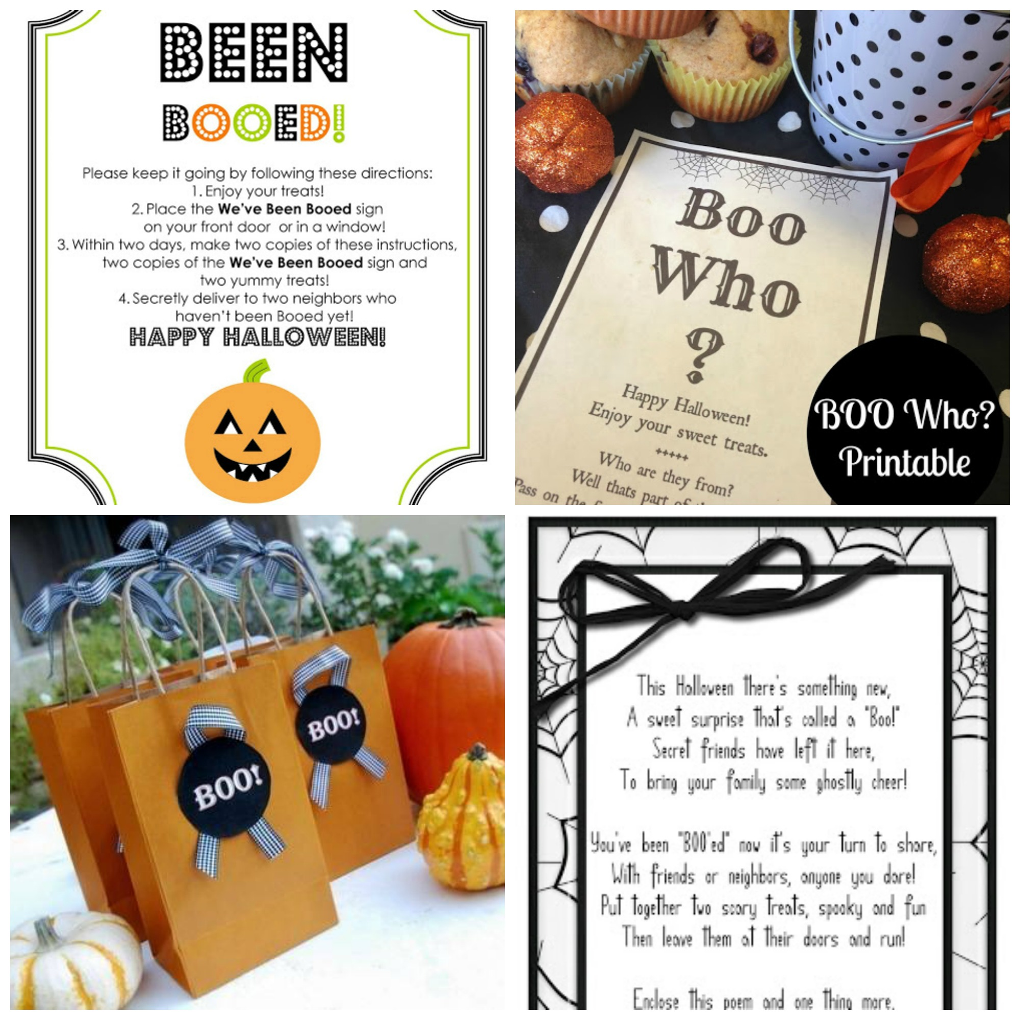 image about You Ve Been Booed Free Printable named 12 Cost-free Youve Been Booed Halloween Printables - My Frugal