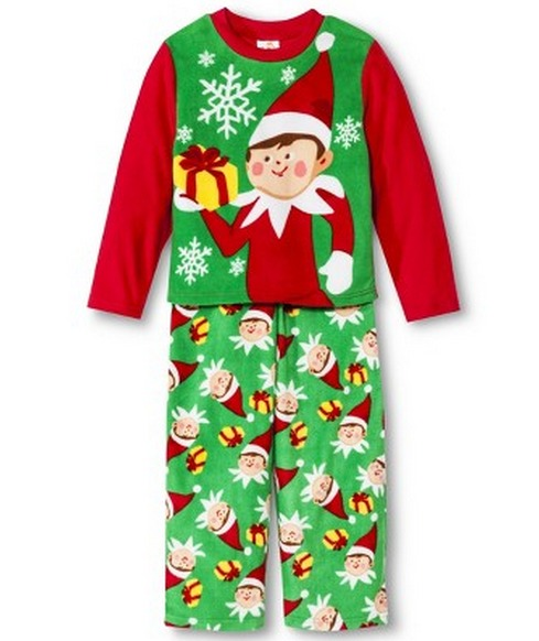 elf on the shelf pajamas 12 shipped my frugal adventures. Black Bedroom Furniture Sets. Home Design Ideas