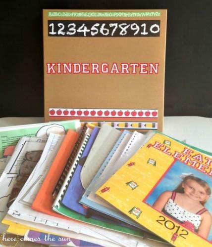 How to Organize Children's Artwork