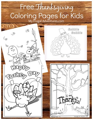 Charlie Brown Thanksgiving 2014 Free Coloring Pages My Frugal Adventures