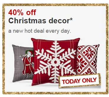Target 40 Off Christmas Decor My Frugal Adventures