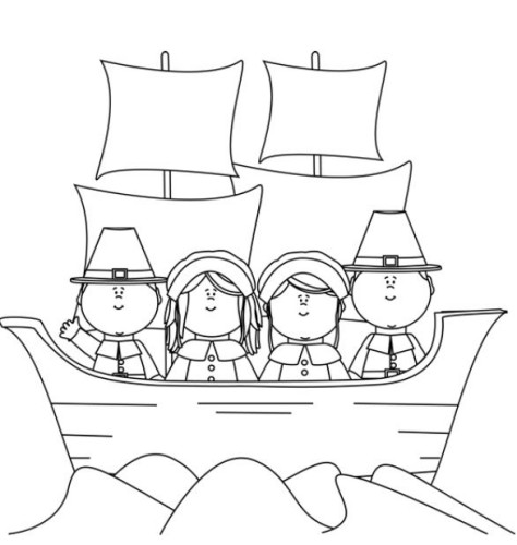Free Thanksgiving Coloring Pages My Frugal Adventures