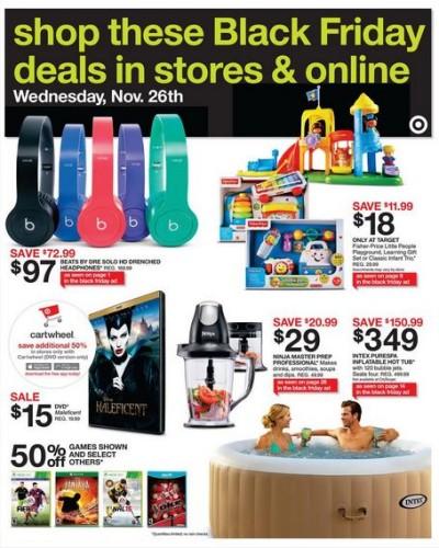 target advance black friday sale