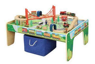 Children S Train Table Set 40 My Frugal Adventures