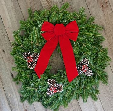 home depot has fresh cut wreathes and 15 fresh cut garland for 500 each in the black friday ad that runs through 123 - Home Depot Black Friday Christmas Decorations