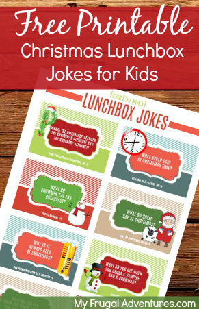 Free Printable Lunchbox Jokes for Kids