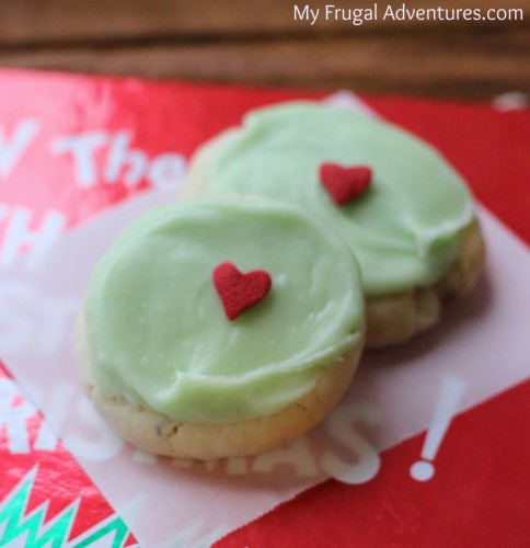 Grinch Cookies for Christmas