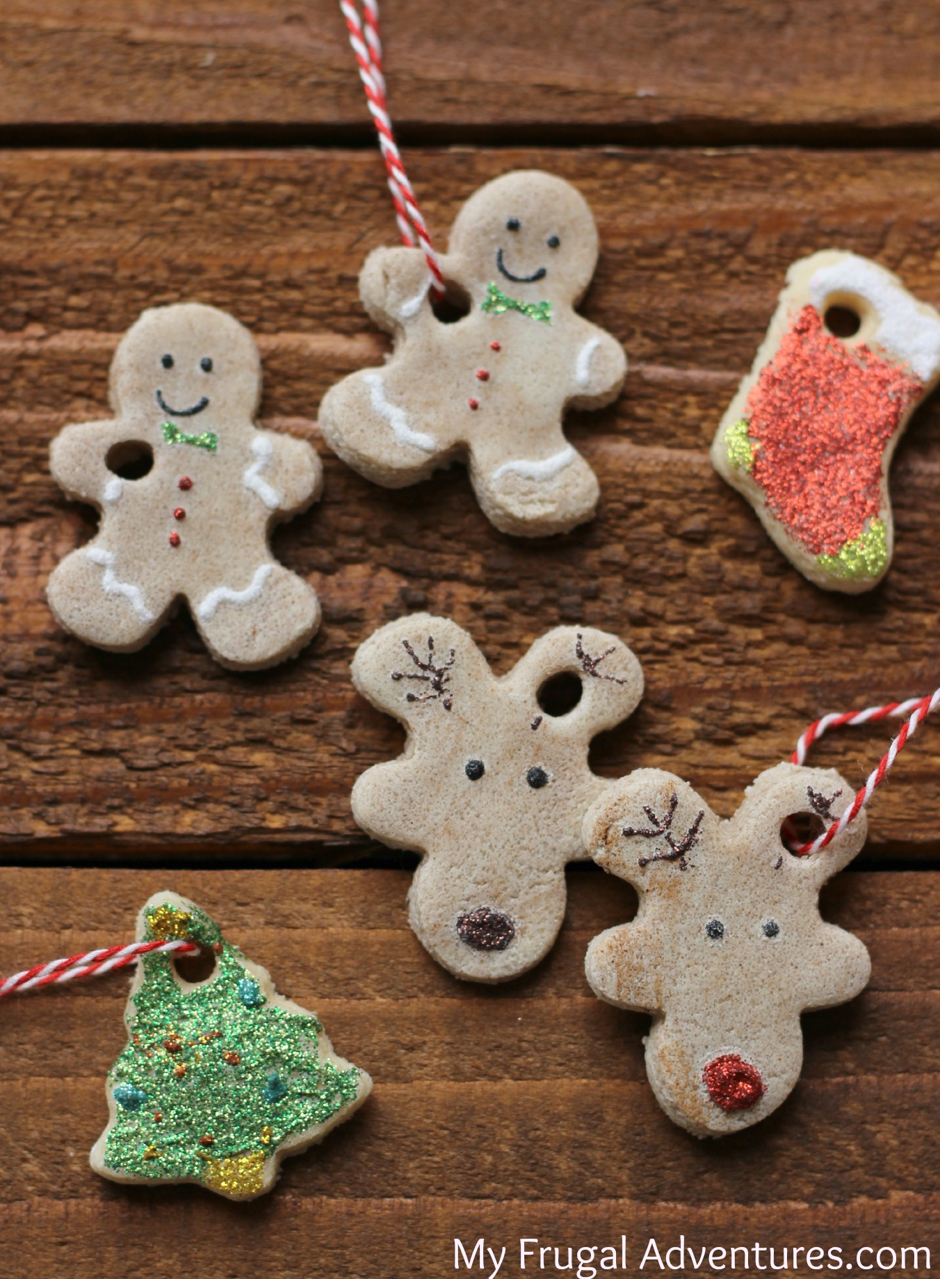 Easy salt dough ornaments perfect holiday craft for kids my frugal adventures - Salzteig weihnachtsdeko ...