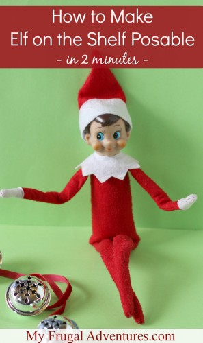 elf on the shelf arrival idea magic elf door my frugal