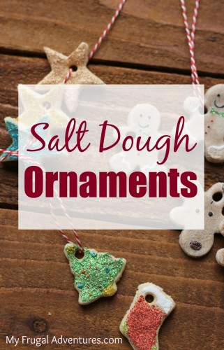 How to Make Salt Dough Ornaments- perfect children's holiday craft!