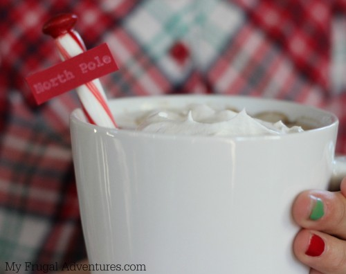 North Pole Hot Chocolate for Christmas