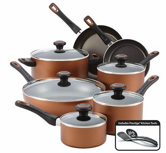 Kohls: Farberware 14 pc Cookware Set $55 +$30 Back in ...