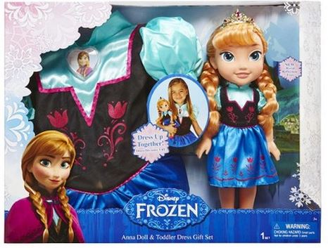 frozen dress and doll